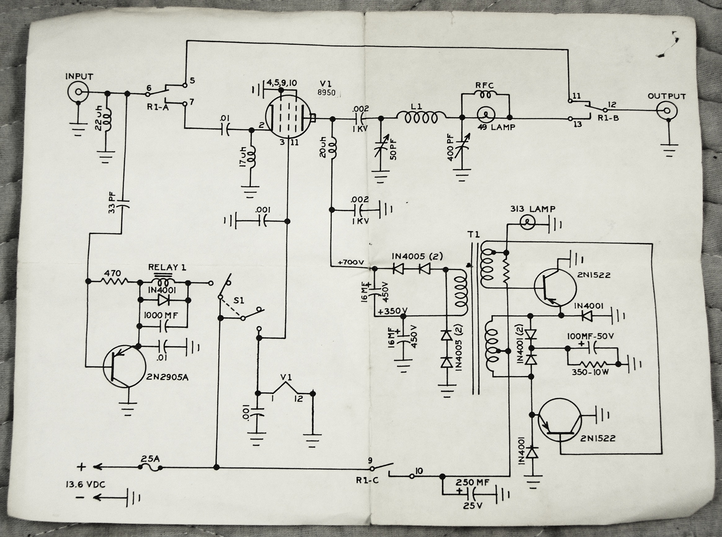 Towns3 4108483 additionally Phone Push To Talk Wiring Diagram additionally Transistor Lifier  mon Base additionally What Is The Difference Between The  mon Emitter And  mon Base Bias Configuration In BJT further Ham Radio Linear  lifier Schematics. on transistor diagram cb radio